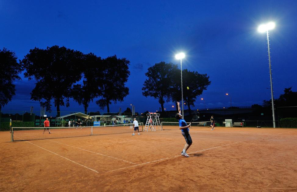 Tennisveld Merendree - Claesen Verlichting